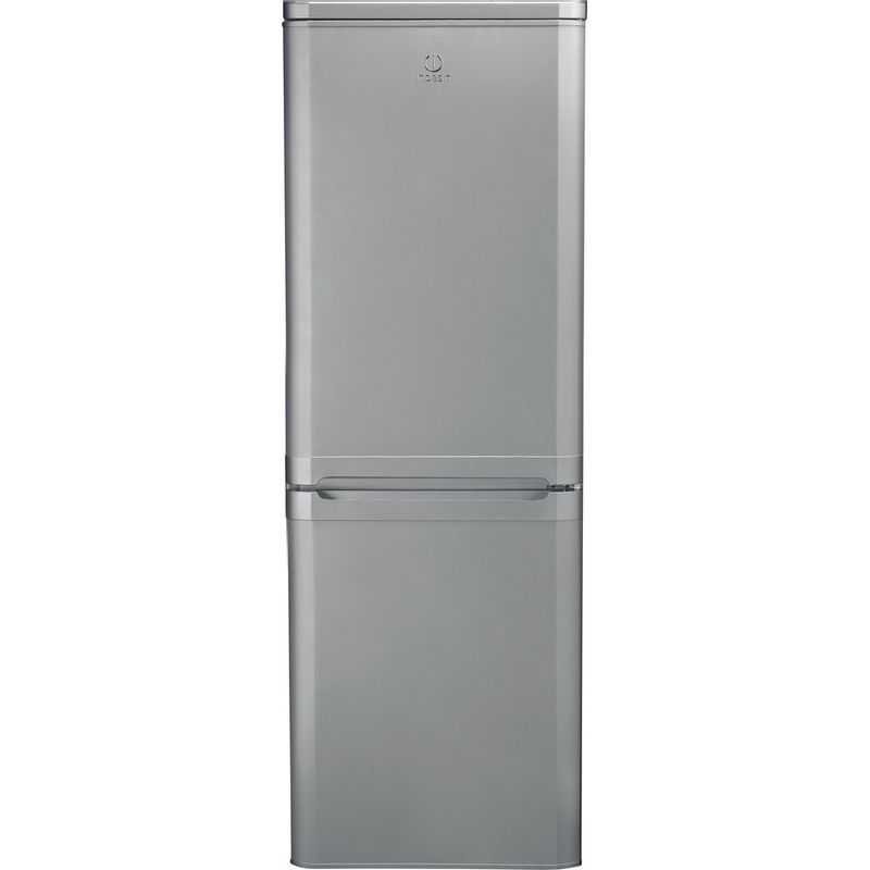 Indesit-Fridge-Freezer-Free-standing-IBD-5515-S-1-Silver-2-doors-Frontal