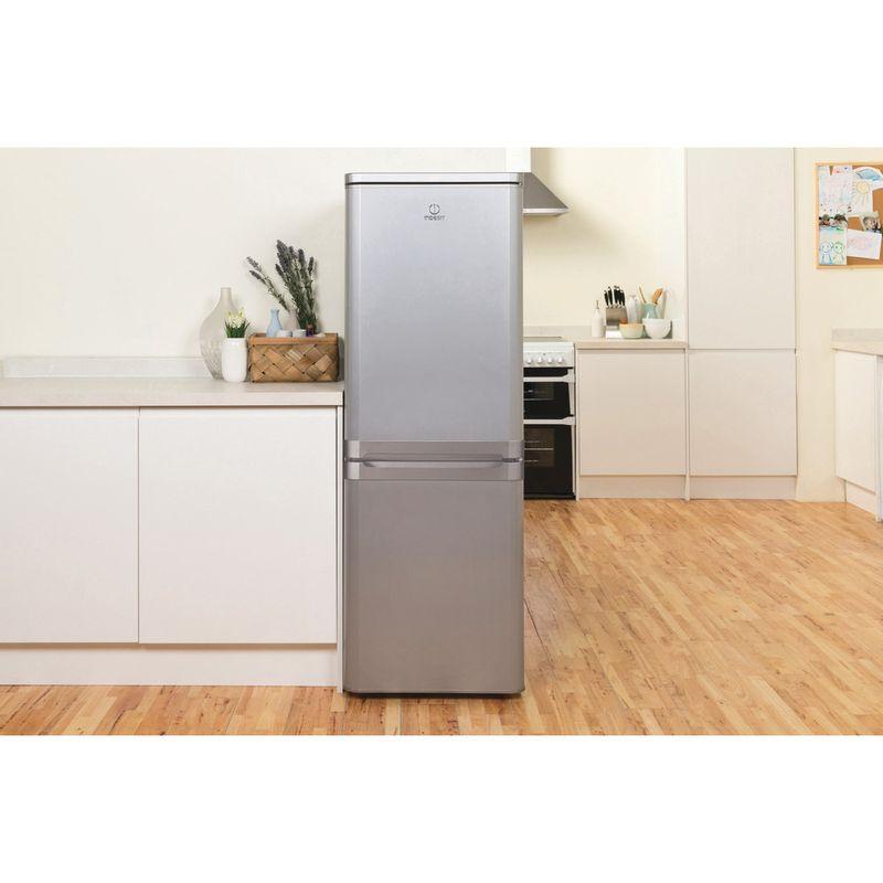Indesit-Fridge-Freezer-Free-standing-IBD-5515-S-1-Silver-2-doors-Lifestyle-frontal