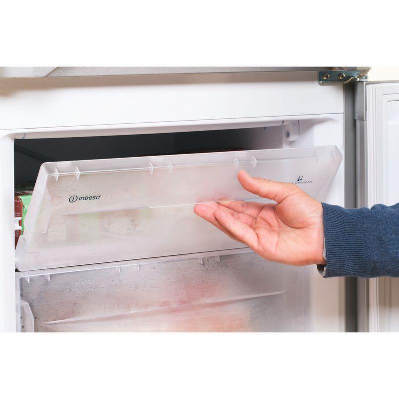 Indesit-Fridge-Freezer-Free-standing-IBD-5515-S-1-Silver-2-doors-Lifestyle-people