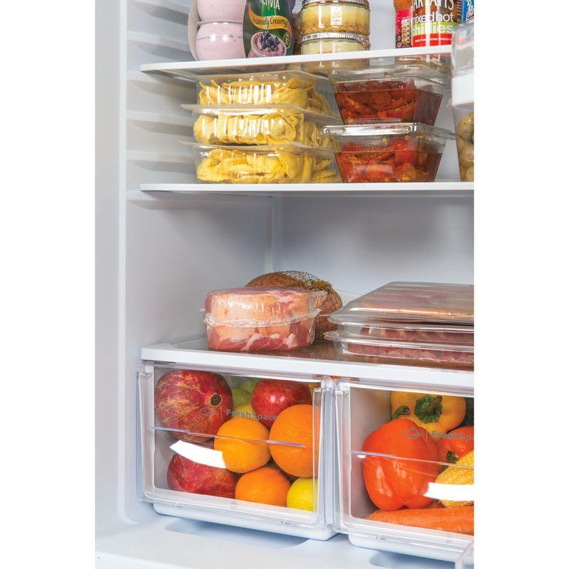 Indesit-Fridge-Freezer-Free-standing-IBD-5515-S-1-Silver-2-doors-Lifestyle-detail
