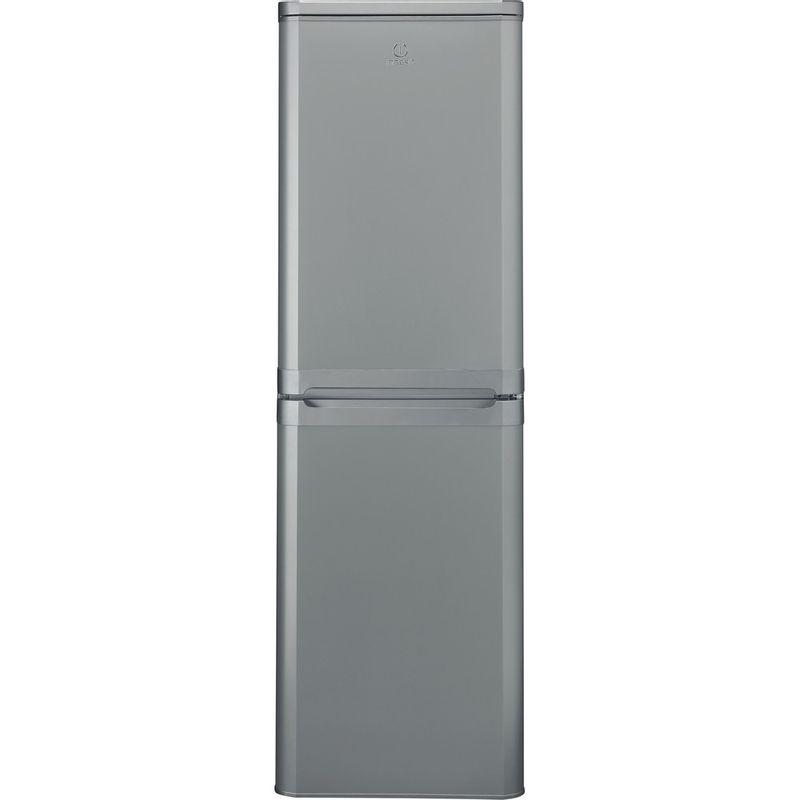 Indesit-Fridge-Freezer-Free-standing-IBD-5517-S-UK-1-Silver-2-doors-Frontal