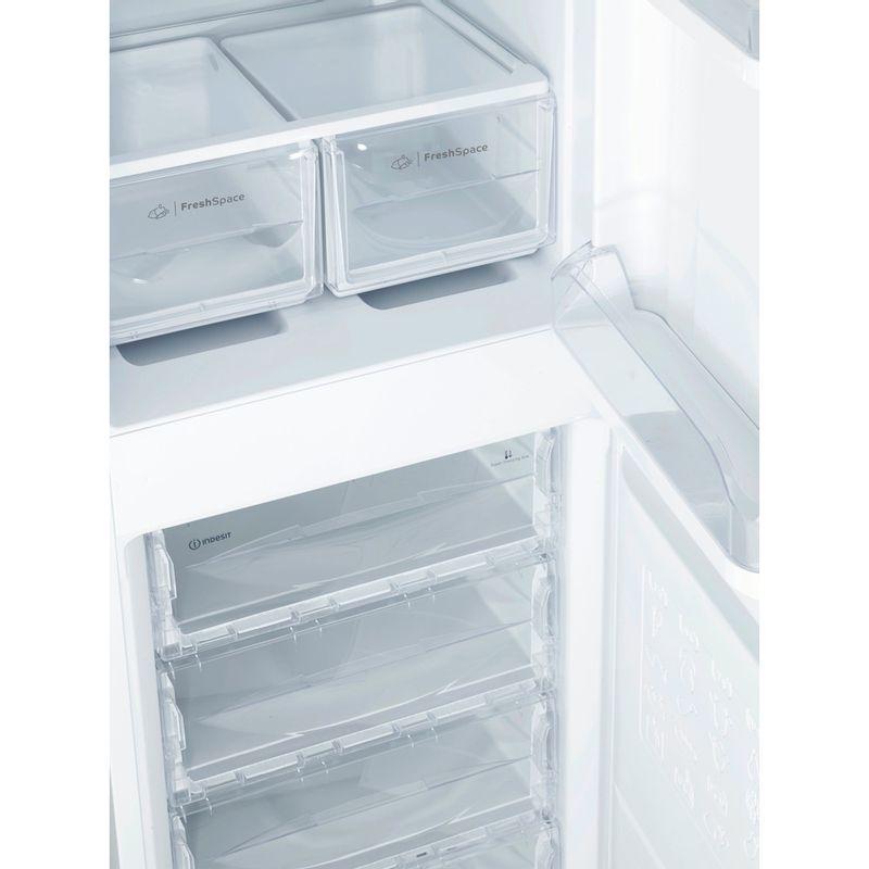 Indesit-Fridge-Freezer-Free-standing-IBD-5517-S-UK-1-Silver-2-doors-Drawer