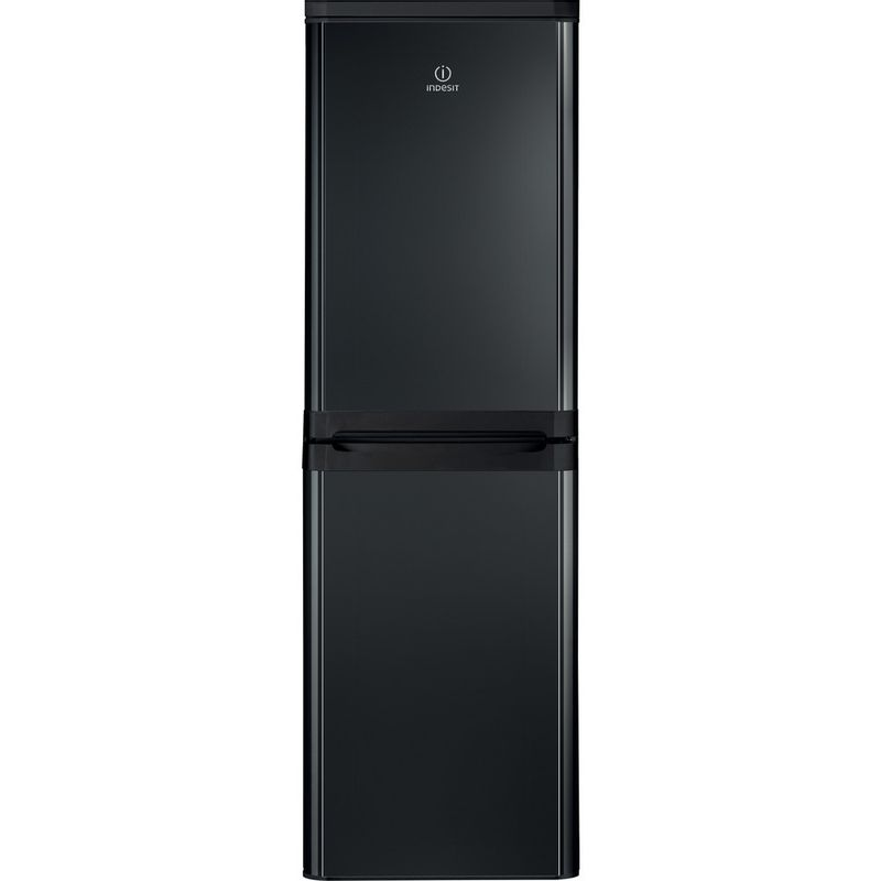 Indesit-Fridge-Freezer-Free-standing-IBD-5515-B-1-Black-2-doors-Frontal
