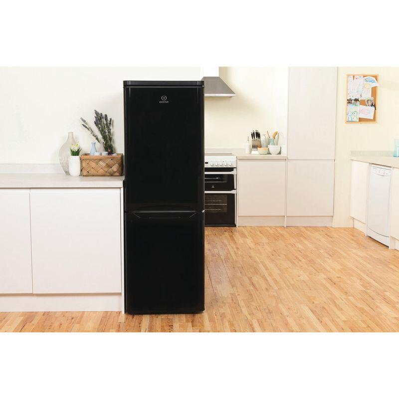 Indesit-Fridge-Freezer-Free-standing-IBD-5515-B-1-Black-2-doors-Lifestyle-frontal