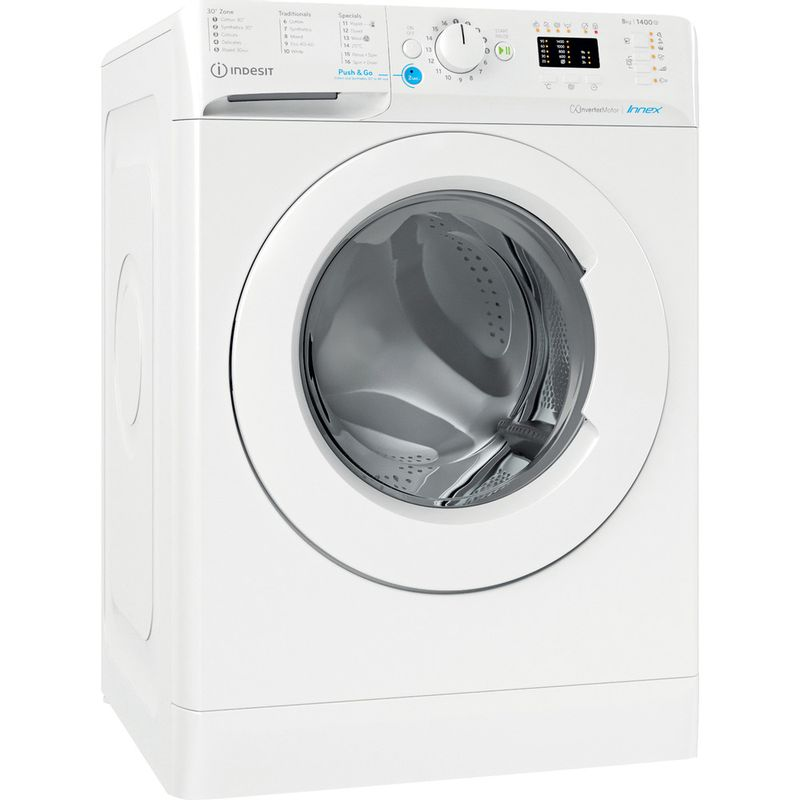 Indesit-Washing-machine-Free-standing-BWA-81484X-W-UK-N-White-Front-loader-C-Perspective