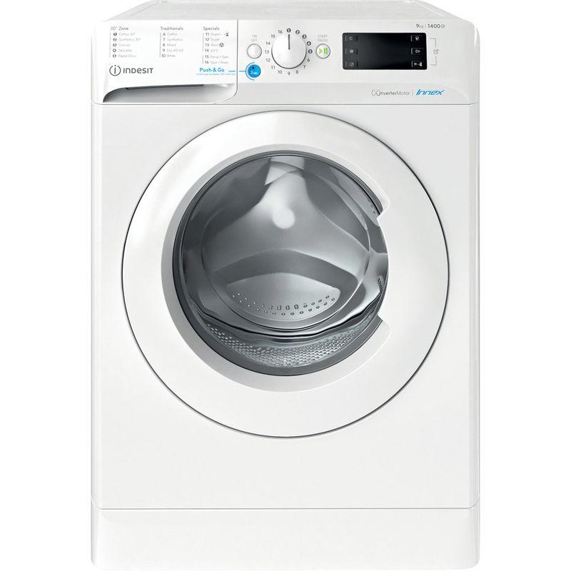 Indesit-Washing-machine-Free-standing-BWE-91484X-W-UK-N-White-Front-loader-C-Frontal