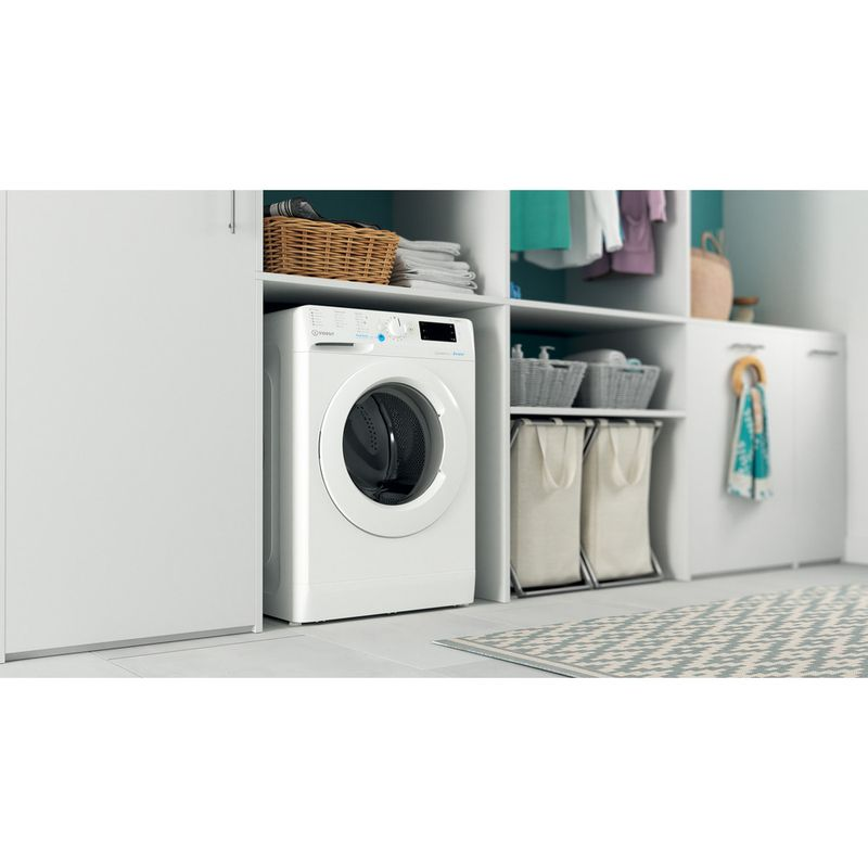 Indesit-Washing-machine-Free-standing-BWE-91484X-W-UK-N-White-Front-loader-C-Lifestyle-perspective