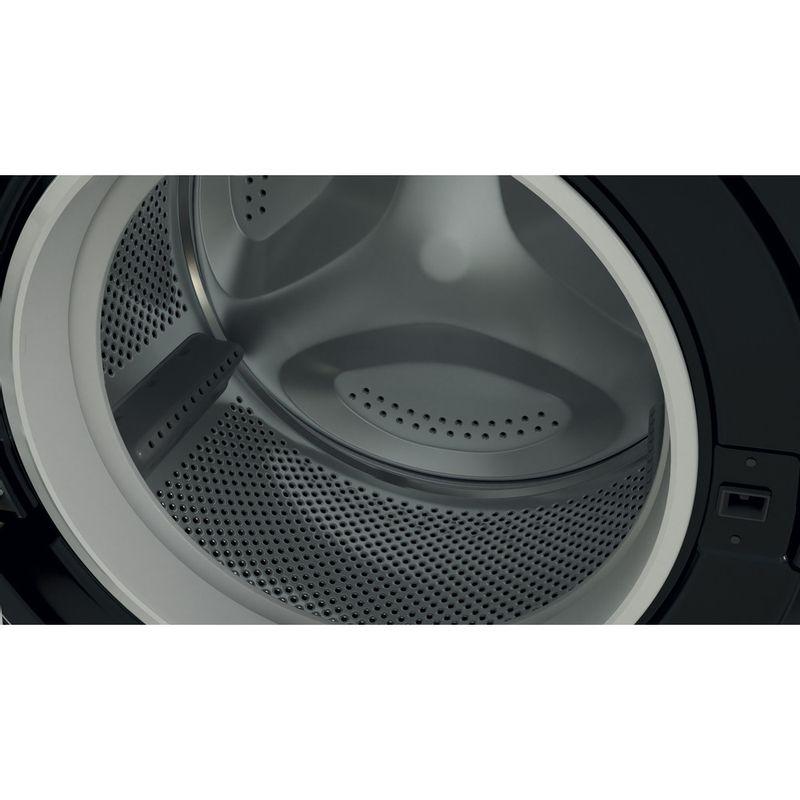 Indesit-Washing-machine-Free-standing-BWE-91483X-K-UK-N-Black-Front-loader-D-Drum
