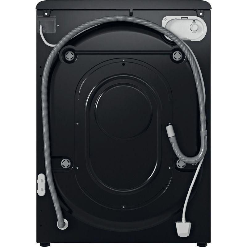 Indesit-Washing-machine-Free-standing-BWE-91483X-K-UK-N-Black-Front-loader-D-Back---Lateral