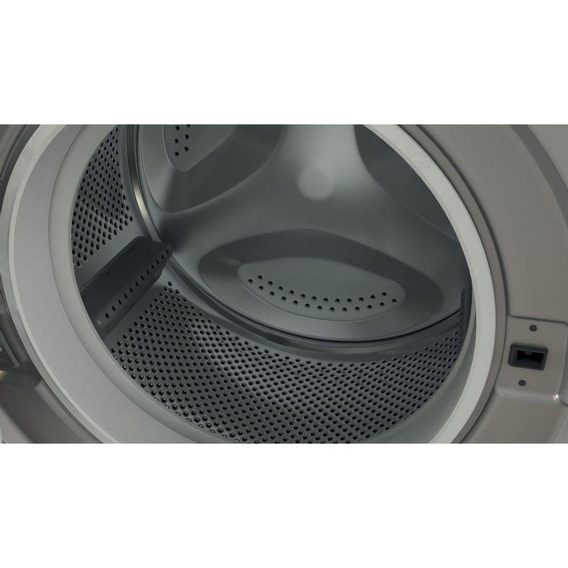Indesit-Washing-machine-Free-standing-BWE-91483X-S-UK-N-Silver-Front-loader-D-Drum