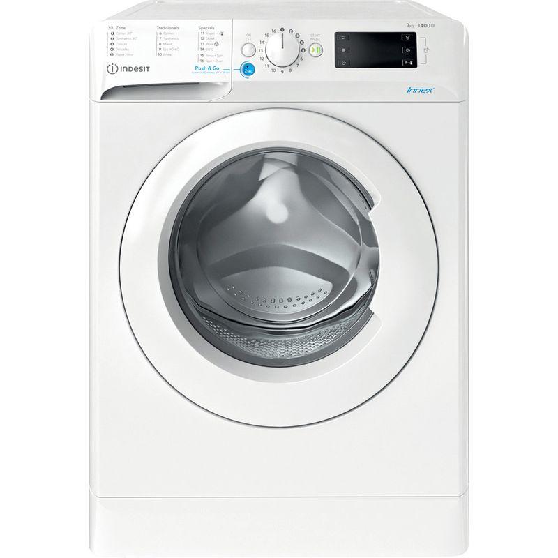 Indesit-Washing-machine-Free-standing-BWE-91683X-W-UK-N-White-Front-loader-D-Frontal