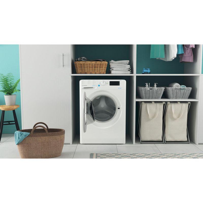 Indesit-Washing-machine-Free-standing-BWE-91683X-W-UK-N-White-Front-loader-D-Lifestyle-frontal-open