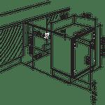 Indesit-Freezer-Built-in-IZ-A1.UK-1-Steel-Technical-drawing