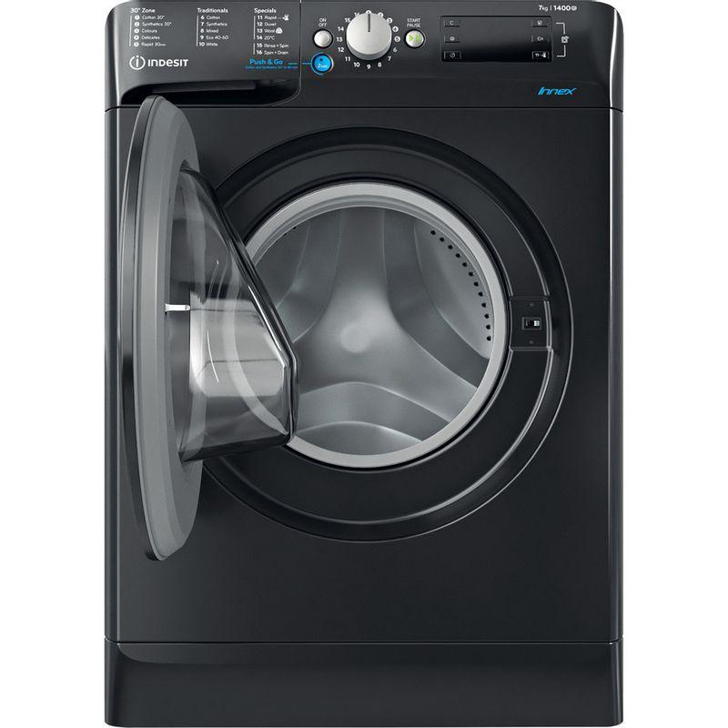 Indesit-Washing-machine-Free-standing-BWE-71452-K-UK-N-Black-Front-loader-E-Frontal-open