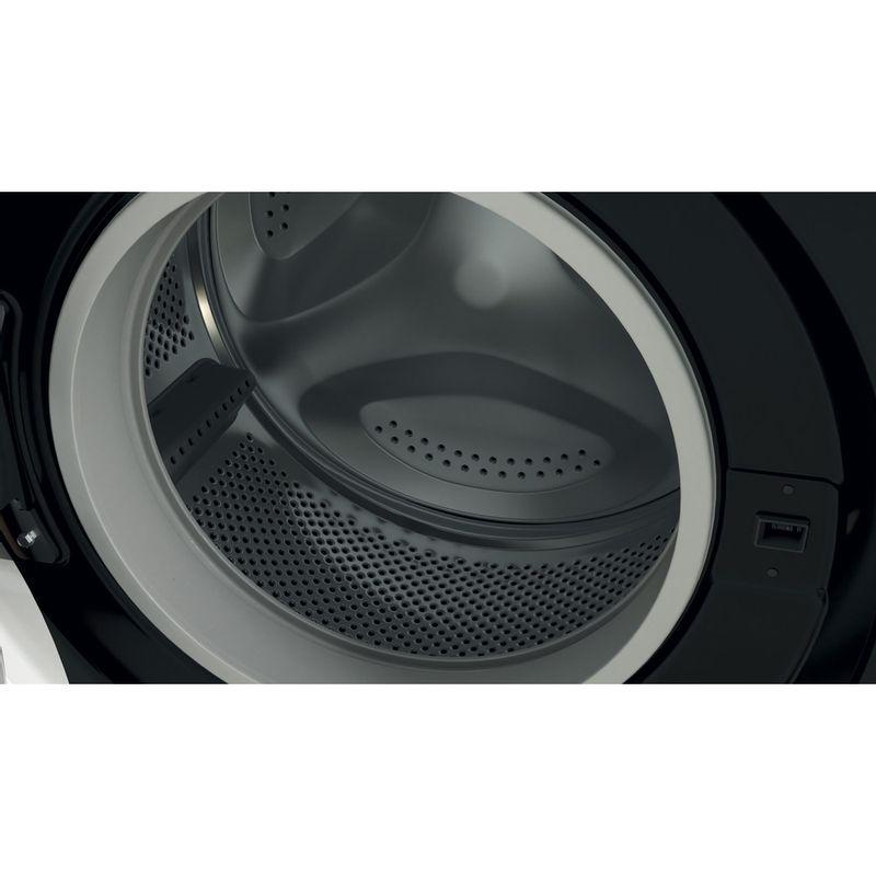 Indesit-Washing-machine-Free-standing-BWE-71452-K-UK-N-Black-Front-loader-E-Drum