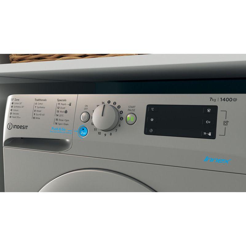 Indesit-Washing-machine-Free-standing-BWE-71452-S-UK-N-Silver-Front-loader-E-Lifestyle-control-panel
