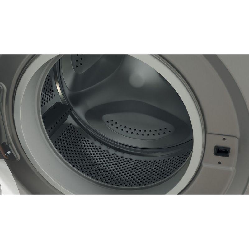 Indesit-Washing-machine-Free-standing-BWE-71452-S-UK-N-Silver-Front-loader-E-Drum
