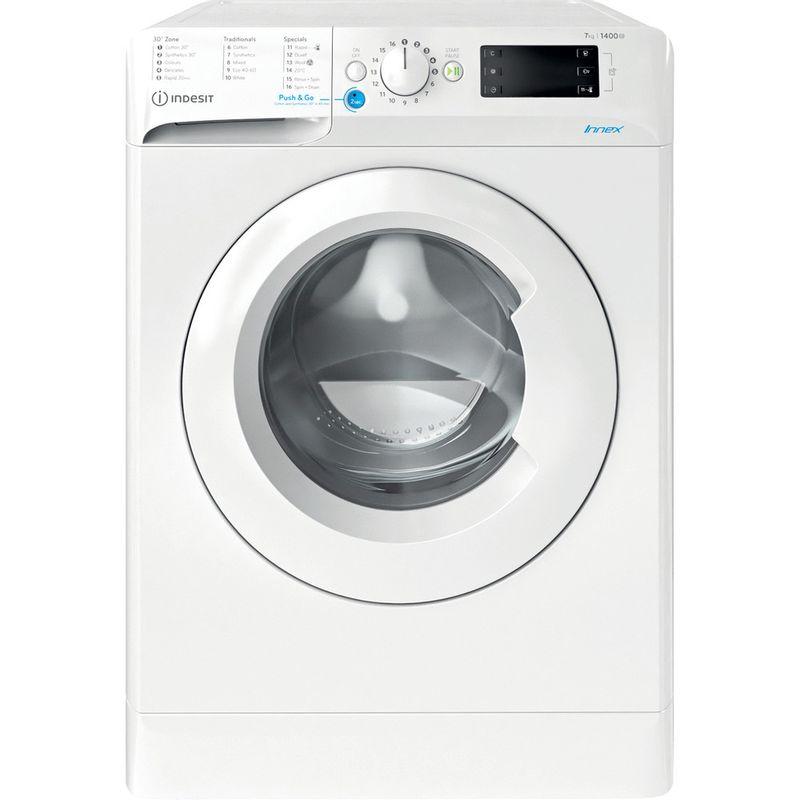 Indesit-Washing-machine-Free-standing-BWE-71452-W-UK-N-White-Front-loader-E-Frontal