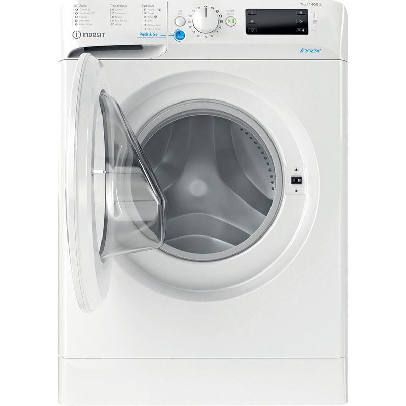 Indesit-Washing-machine-Free-standing-BWE-71452-W-UK-N-White-Front-loader-E-Frontal-open