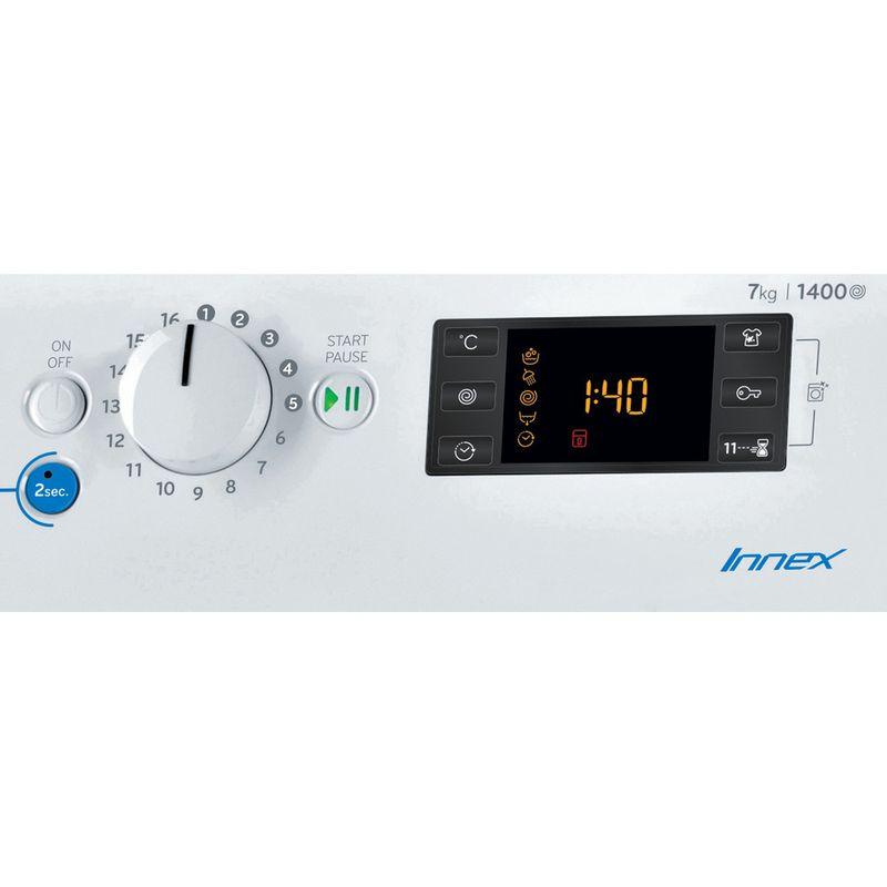 Indesit-Washing-machine-Free-standing-BWE-71452-W-UK-N-White-Front-loader-E-Control-panel