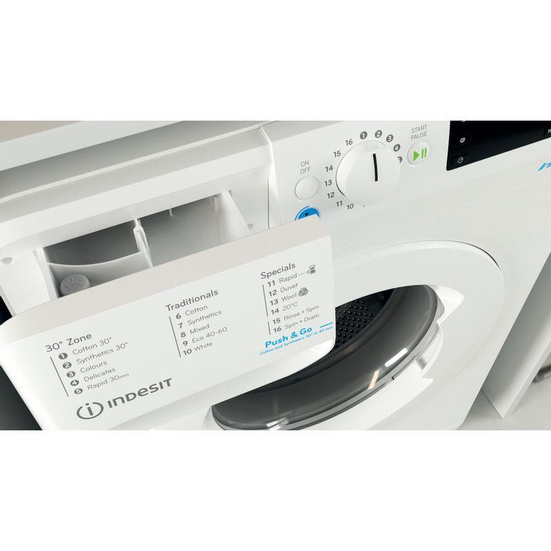 Indesit-Washing-machine-Free-standing-BWE-71452-W-UK-N-White-Front-loader-E-Drawer