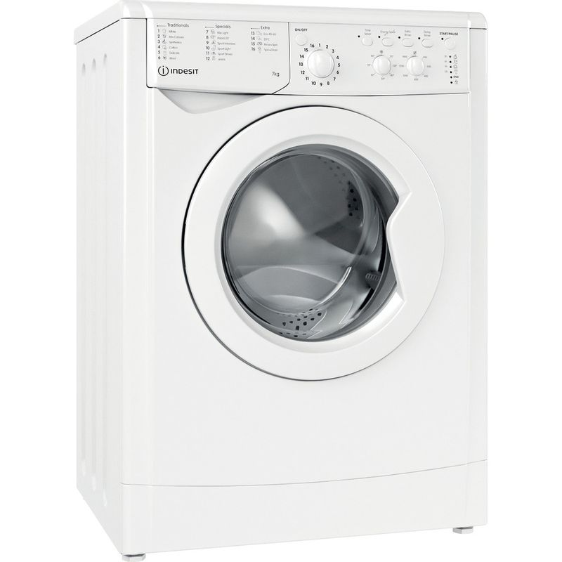 Indesit-Washing-machine-Free-standing-IWC-71452-W-UK-N-White-Front-loader-E-Perspective
