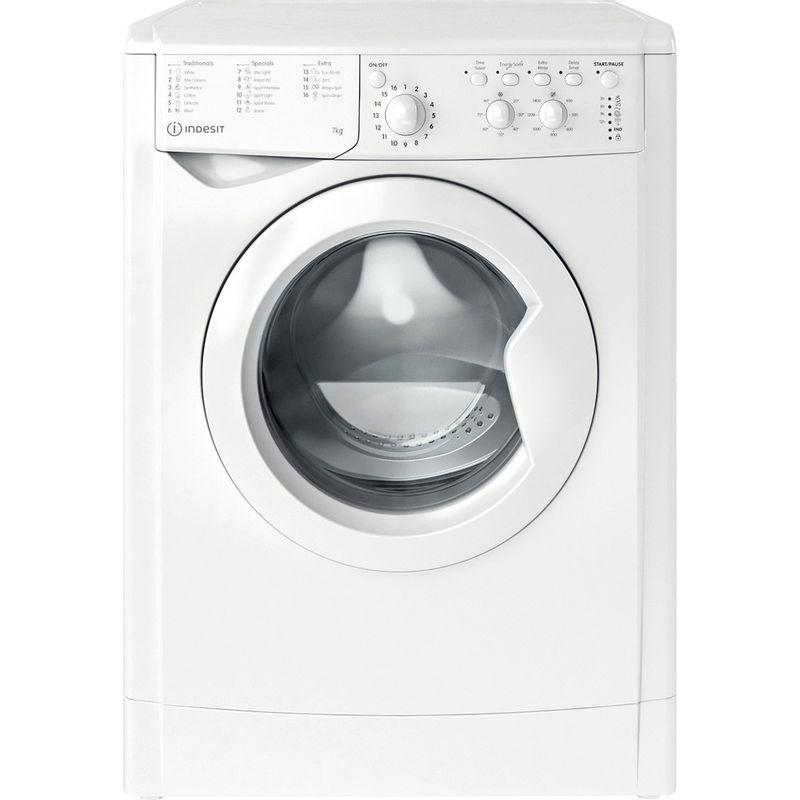 Indesit-Washing-machine-Free-standing-IWC-71452-W-UK-N-White-Front-loader-E-Frontal