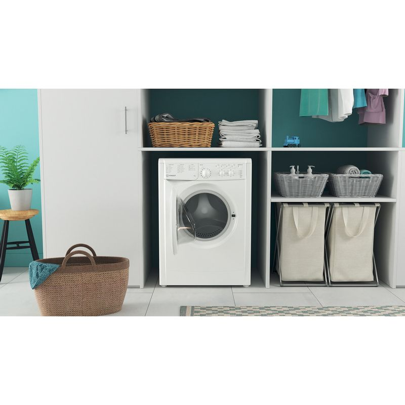 Indesit-Washing-machine-Free-standing-IWC-71452-W-UK-N-White-Front-loader-E-Lifestyle-frontal-open
