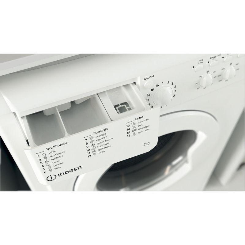 Indesit-Washing-machine-Free-standing-IWC-71452-W-UK-N-White-Front-loader-E-Drawer