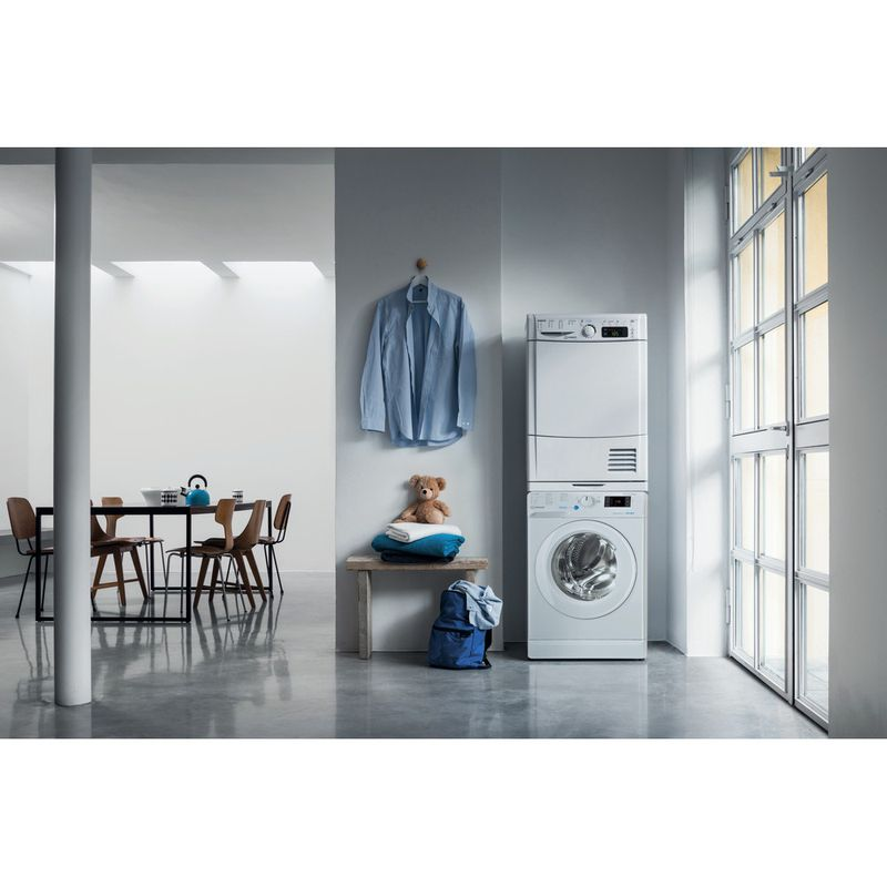 Indesit-Washer-dryer-Free-standing-BDE-961483X-W-UK-N-White-Front-loader-Lifestyle-frontal