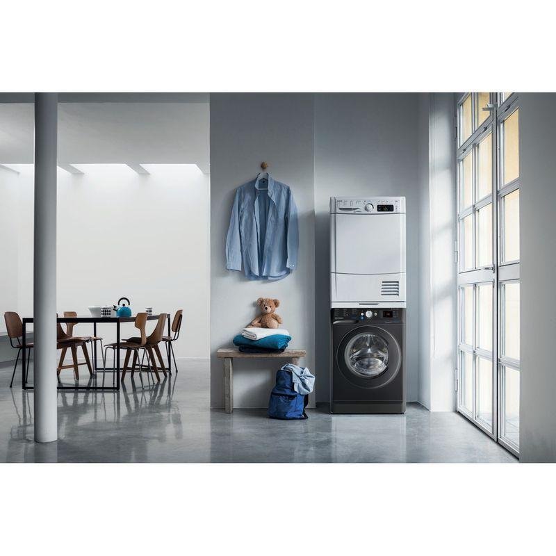 Indesit-Washer-dryer-Free-standing-BDE-861483X-K-UK-N-Black-Front-loader-Lifestyle-frontal