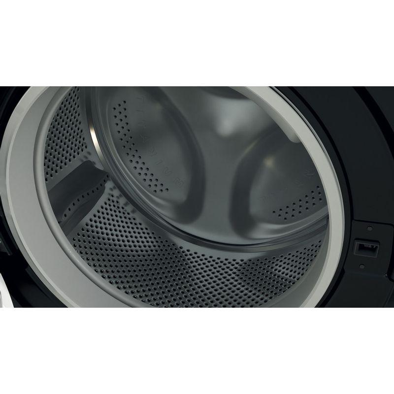 Indesit-Washer-dryer-Free-standing-BDE-861483X-K-UK-N-Black-Front-loader-Drum