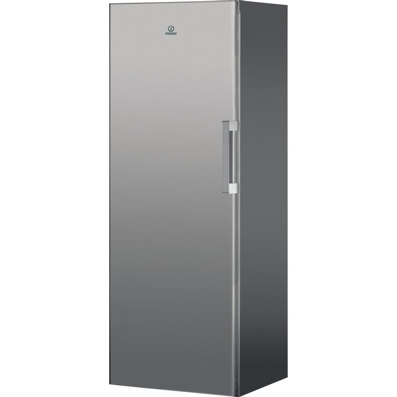 Indesit-Freezer-Free-standing-UI6-F1T-S-UK-1-Silver-Perspective