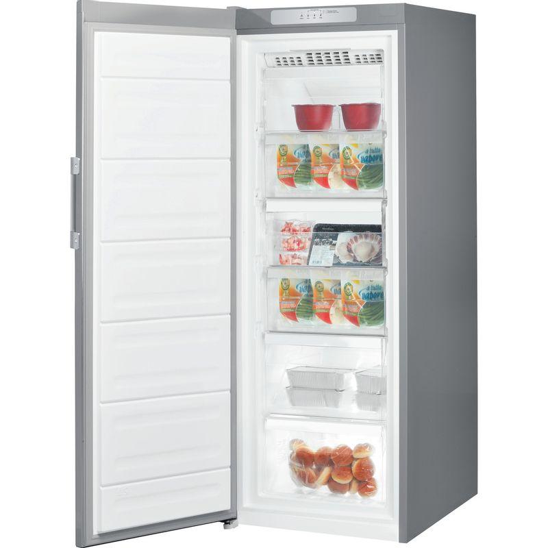 Indesit-Freezer-Free-standing-UI6-F1T-S-UK-1-Silver-Perspective-open