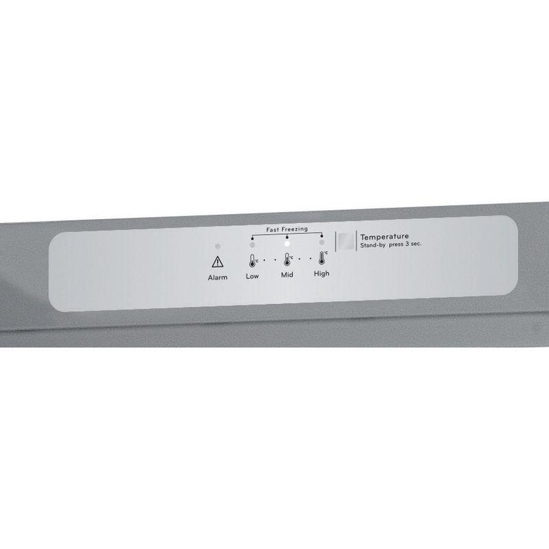 Indesit-Freezer-Free-standing-UI6-F1T-S-UK-1-Silver-Control-panel