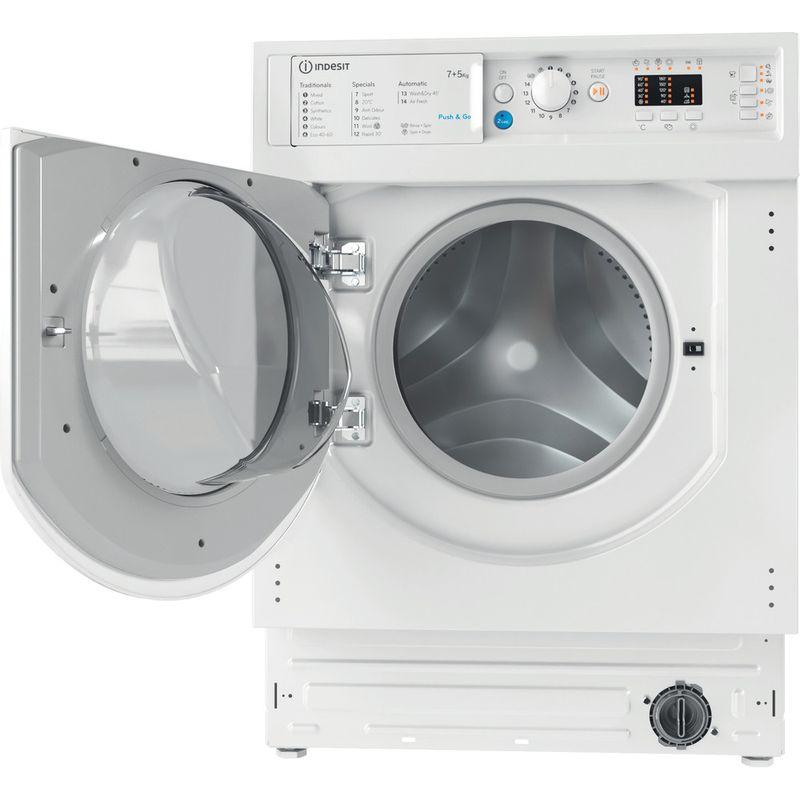 Indesit-Washer-dryer-Built-in-BI-WDIL-75125-UK-N-White-Front-loader-Frontal-open
