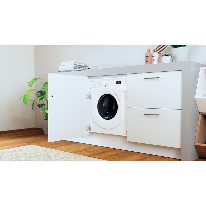 Indesit-Washer-dryer-Built-in-BI-WDIL-75125-UK-N-White-Front-loader-Lifestyle-perspective