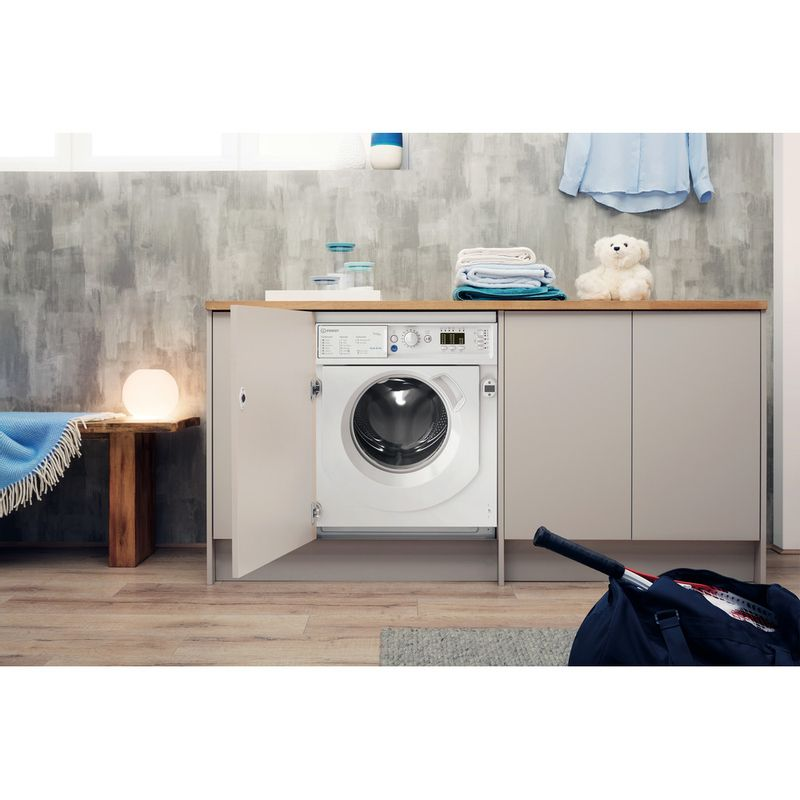 Indesit-Washer-dryer-Built-in-BI-WDIL-75125-UK-N-White-Front-loader-Lifestyle-frontal