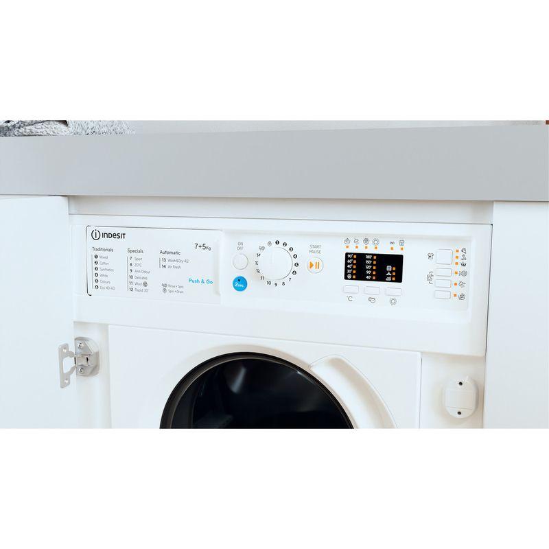Indesit-Washer-dryer-Built-in-BI-WDIL-75125-UK-N-White-Front-loader-Lifestyle-control-panel