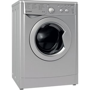 Indesit Ecotime IWDC 65125 S UK N Washer Dryer - Silver