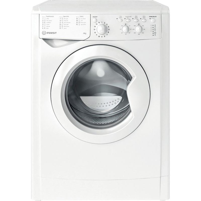 Indesit-Washing-machine-Free-standing-IWC-81483-W-UK-N-White-Front-loader-D-Frontal