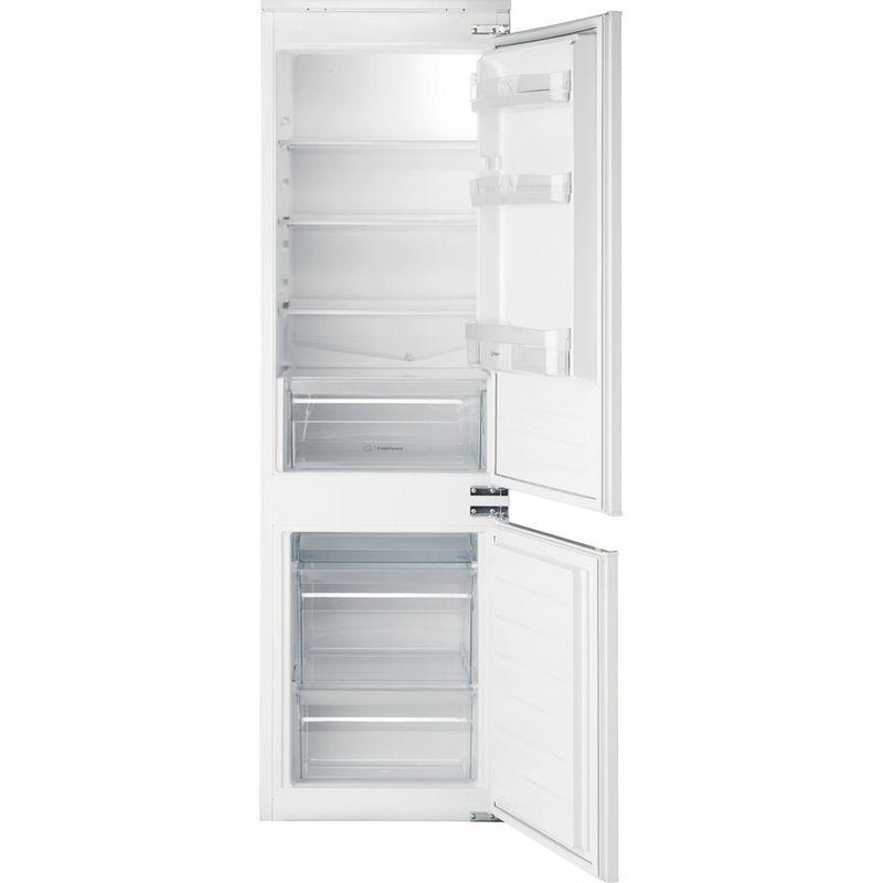 Indesit-Fridge-Freezer-Built-in-IB-7030-A1-D.UK-1-White-2-doors-Frontal-open