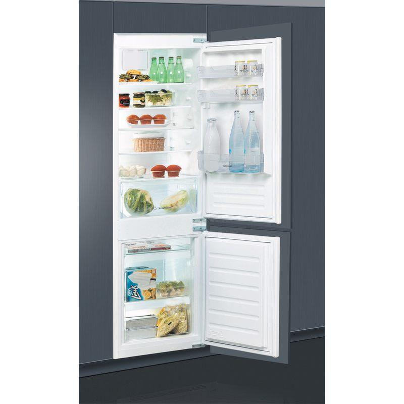 Indesit-Fridge-Freezer-Built-in-IB-7030-A1-D.UK-1-White-2-doors-Lifestyle-perspective-open