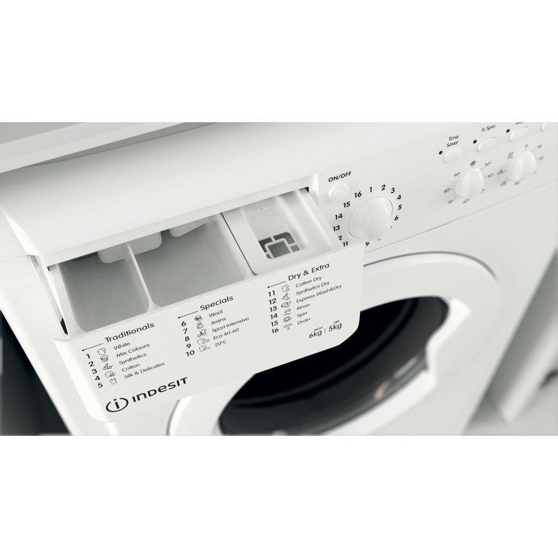 Indesit-Washer-dryer-Free-standing-IWDC-65125-UK-N-White-Front-loader-Drawer