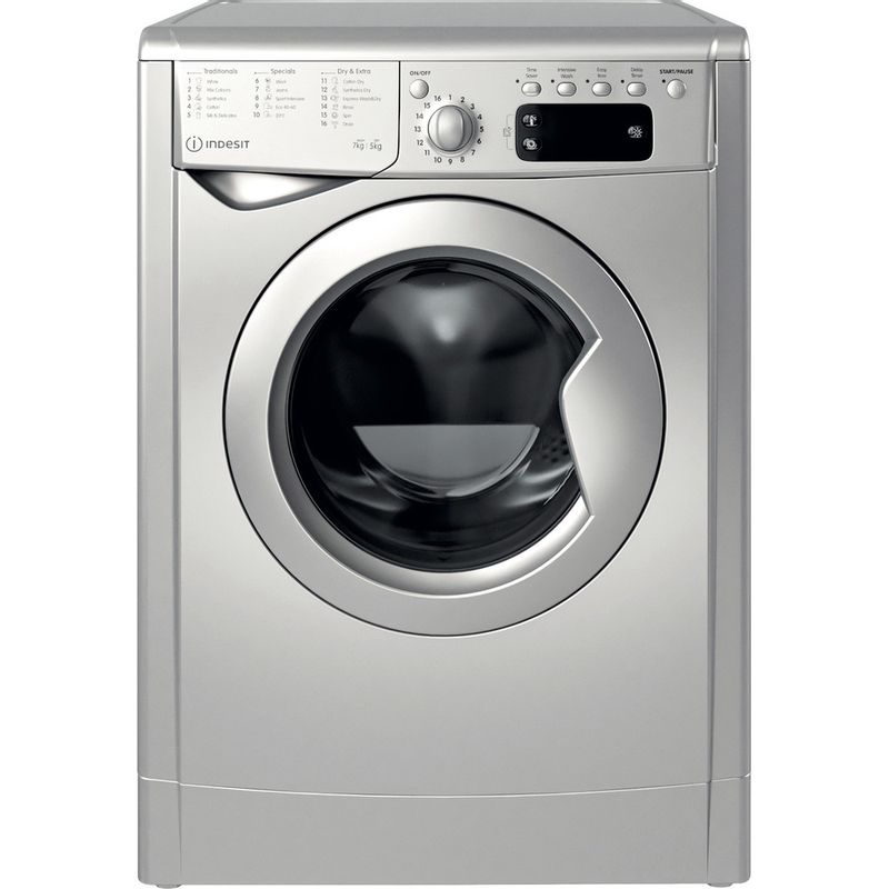 Indesit-Washer-dryer-Free-standing-IWDD-75145-S-UK-N-Silver-Front-loader-Frontal