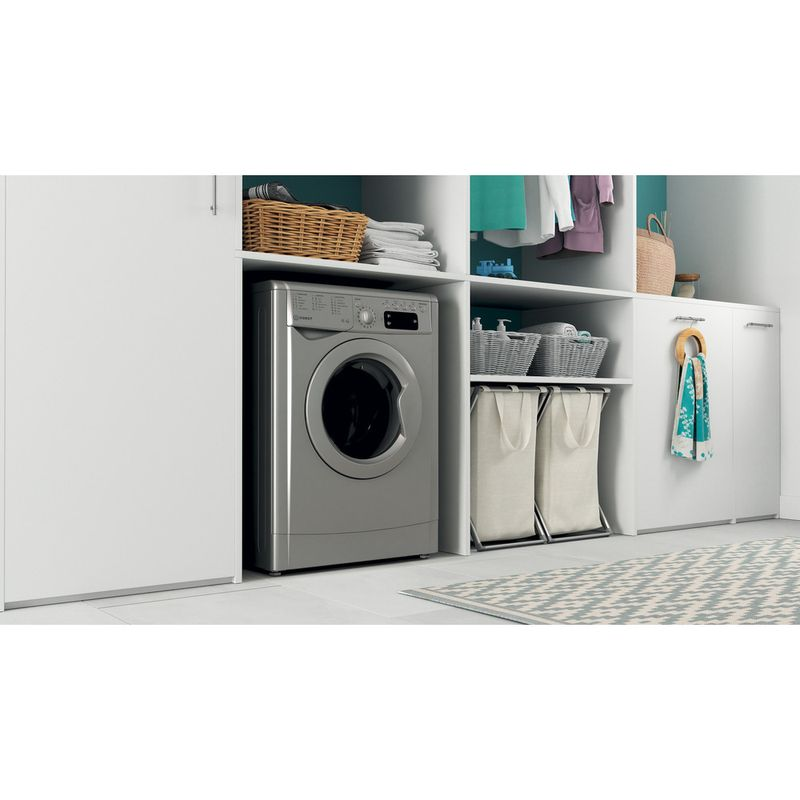 Indesit-Washer-dryer-Free-standing-IWDD-75145-S-UK-N-Silver-Front-loader-Lifestyle-perspective