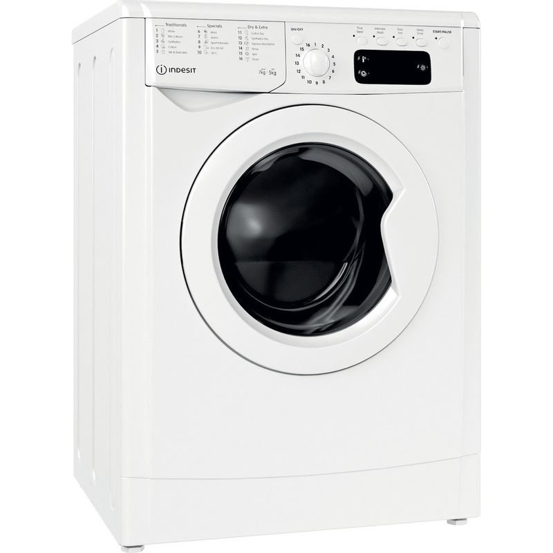 Indesit-Washer-dryer-Free-standing-IWDD-75145-UK-N-White-Front-loader-Perspective