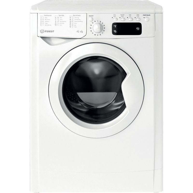 Indesit-Washer-dryer-Free-standing-IWDD-75145-UK-N-White-Front-loader-Frontal