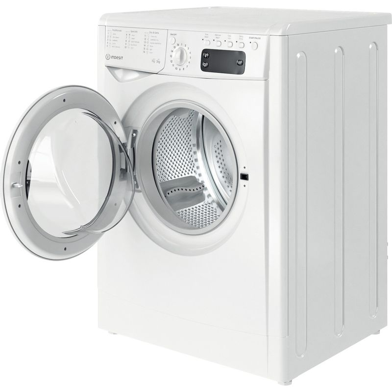 Indesit-Washer-dryer-Free-standing-IWDD-75145-UK-N-White-Front-loader-Perspective-open