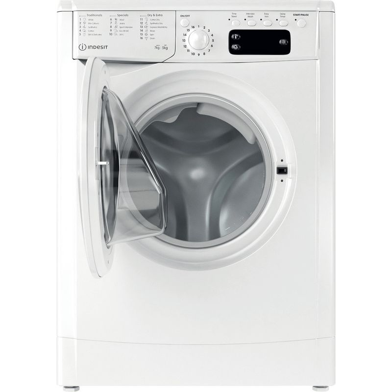 Indesit-Washer-dryer-Free-standing-IWDD-75145-UK-N-White-Front-loader-Frontal-open